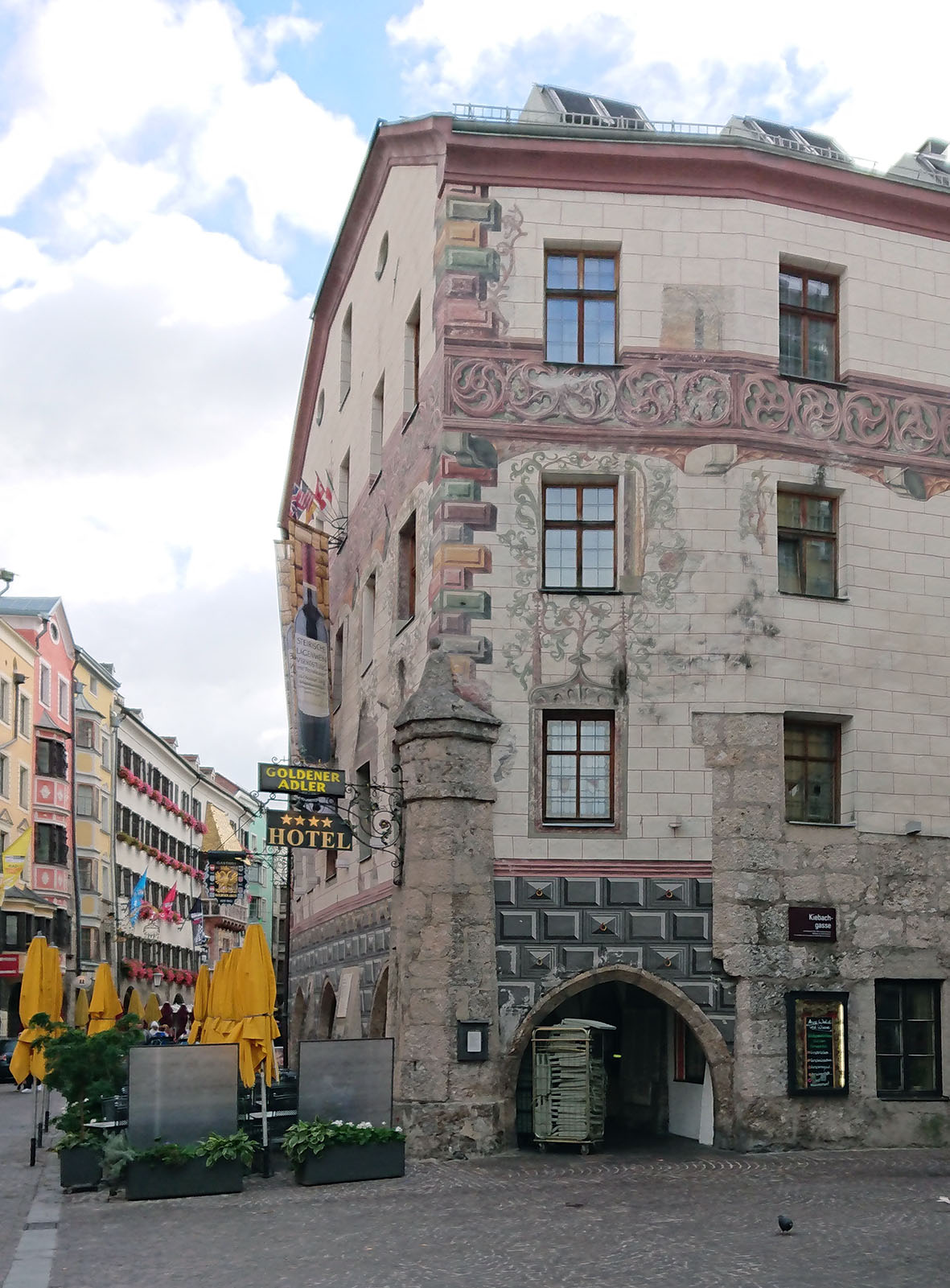 Innsbruck, Hotel Goldener Adler